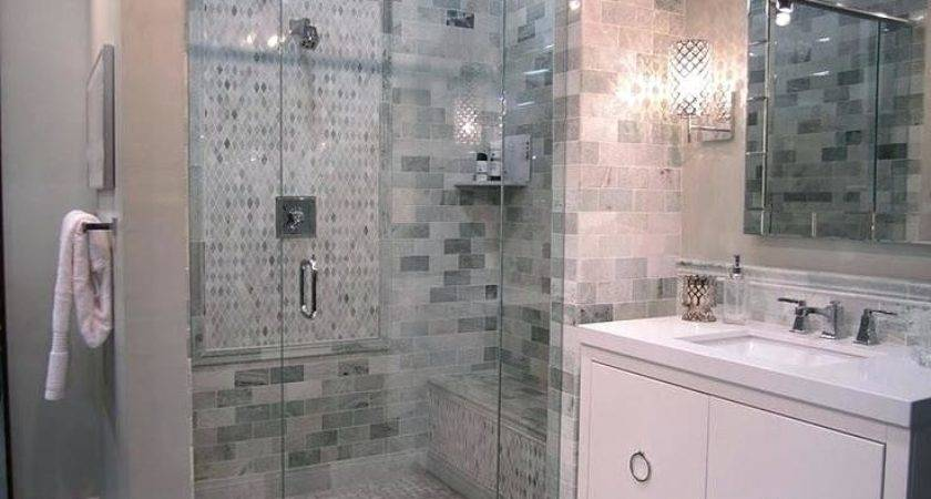 Stand Showers Acrylic Shower Pan Tile Walls Home