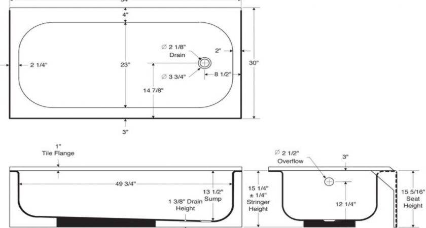 Standard Bathroom Tub Decor References