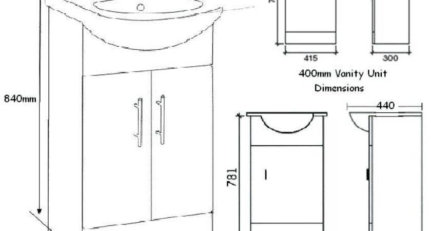 Standard Bathroom Vanity Cabinet