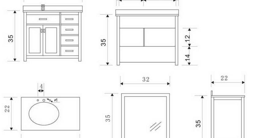 Standard Bathroom Vanity Design Ideas