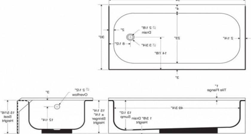 Standard Bathtub Designs