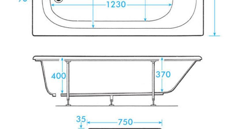 Standard Bathtub Litres Whirlpool