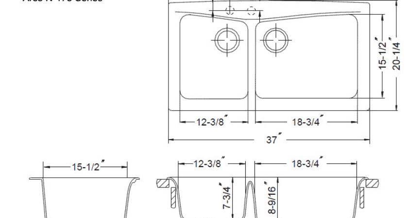 Standard Hole Kitchen Sink Non
