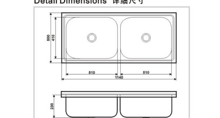 Standard Kitchen Sink Best Home Furniture Ideas