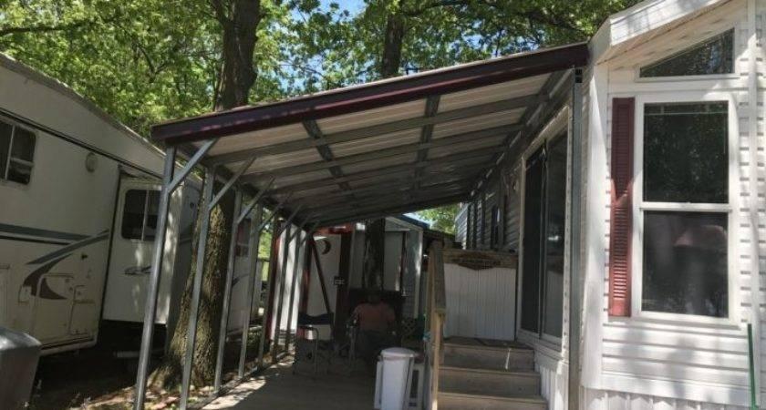 Standing Metal Lean Carport Plans Build