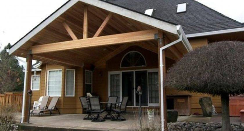 Standing Patio Cover Designs Attaching Porch Roof
