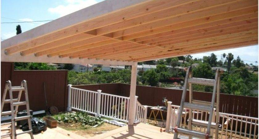 Standing Patio Cover Designs More Eye Catching