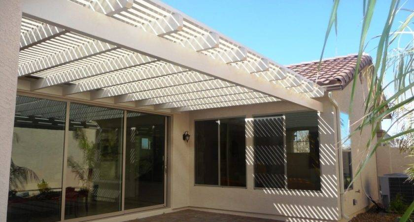 Standing Patio Cover Designs Plans