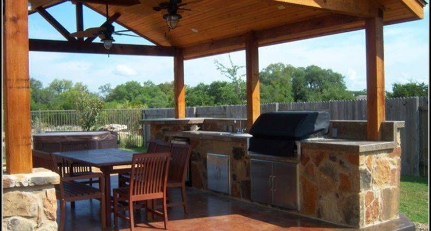 Standing Patio Cover Plans Patios Home Decorating