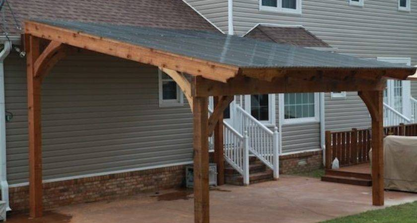 Standing Pergola Polycarbonate Roof Panels