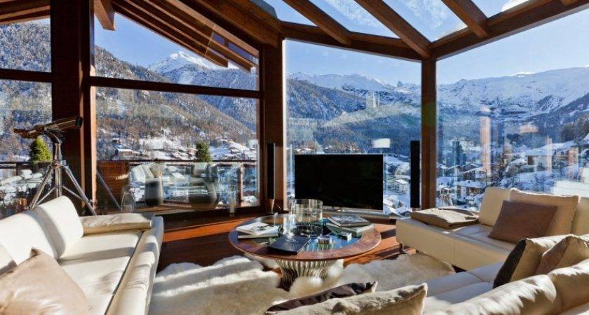 Star Luxury Mountain Home Amazing Interiors