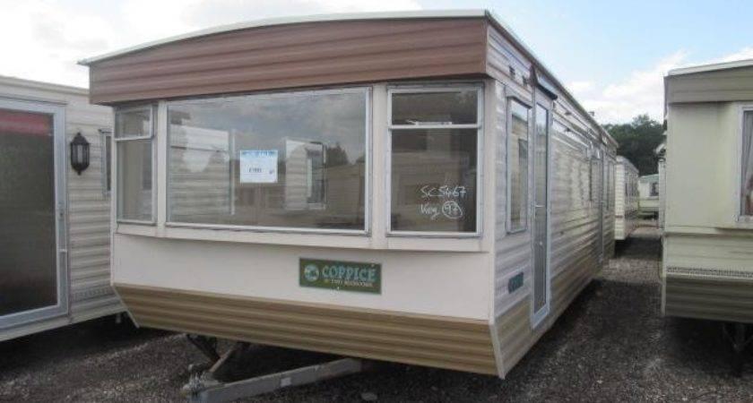 Static Caravan Mobile Home Atlas Coppice Bed