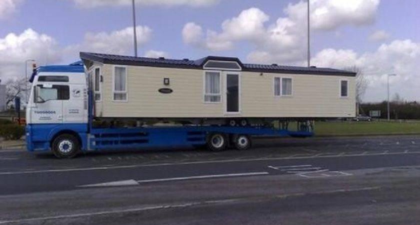 Static Caravan Transport Mobile Home