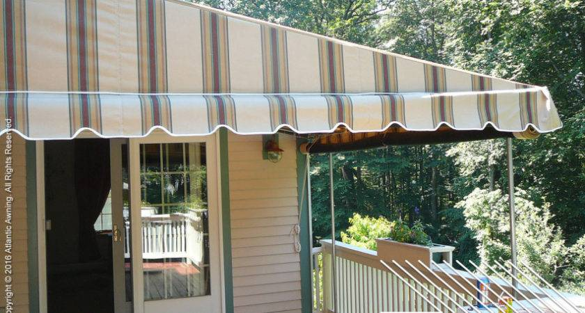 Stationary Standing Patio Deck Awnings Atlantic