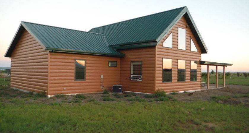 Steel Log Siding Home Cabin Trulog