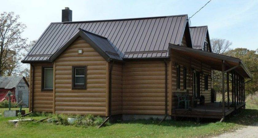 Steel Log Siding Superior Seamless Installation