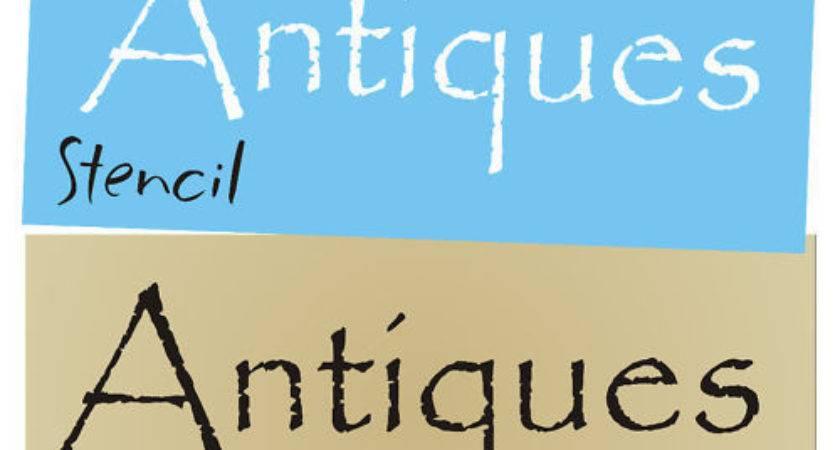 Stencil Antiques Primitive Blocks Signs Collectibles Ebay