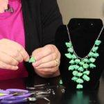Step Directions Making Stone Necklaces Diy