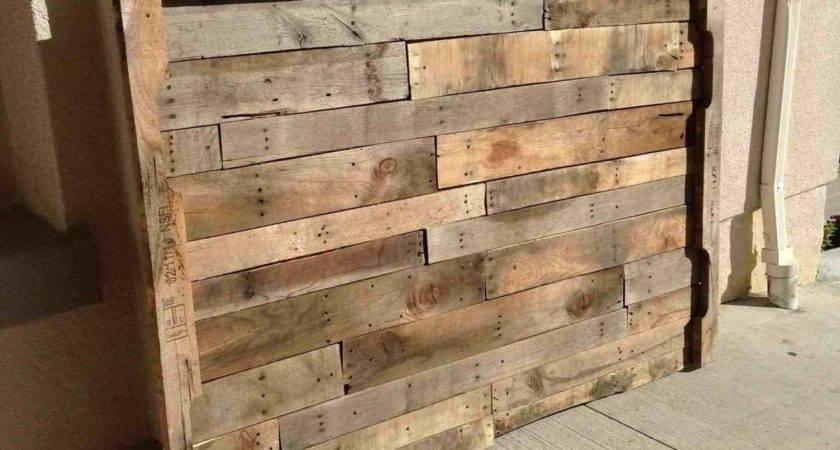 Steps Things Made Pallets Building Tiki Bar