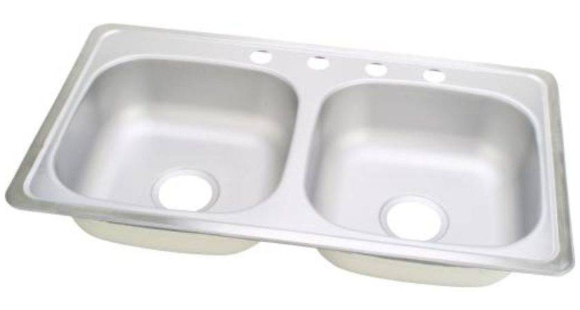 Sterling Plumbing Mobile Home Kitchen Sink Per Each