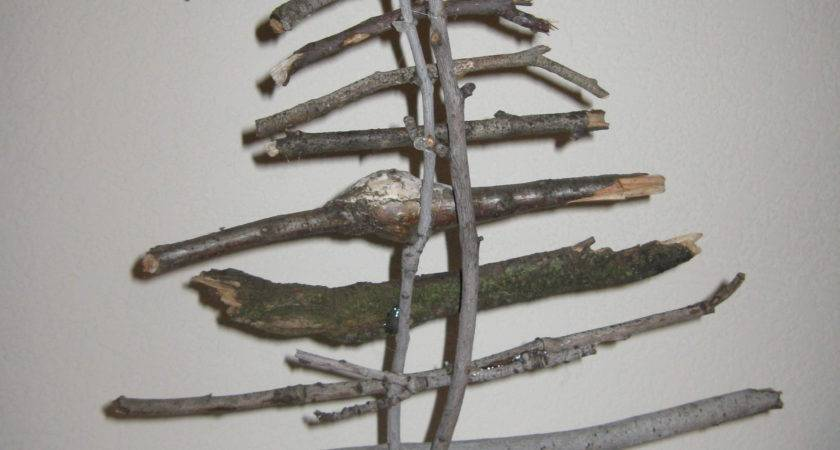 Sticks Twig Christmas Tree Fruitful Words