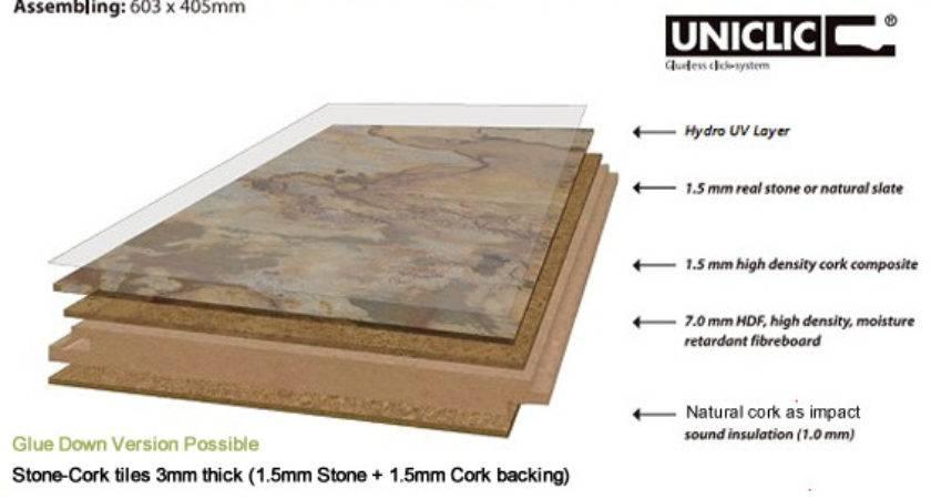 Stone Cork Floating Flooring