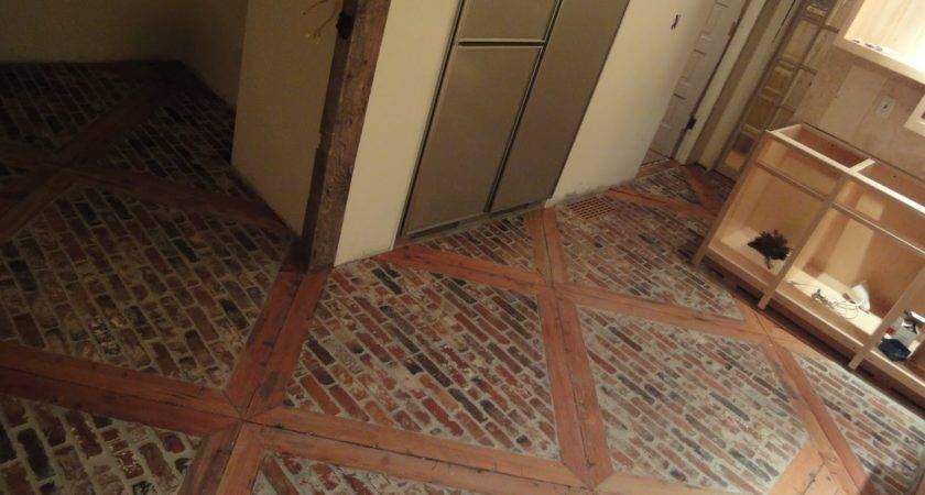 Stone Floor Wood Inlays Doityourself Community