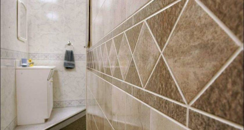 Stone Wall Bathroom Tile Board Panels