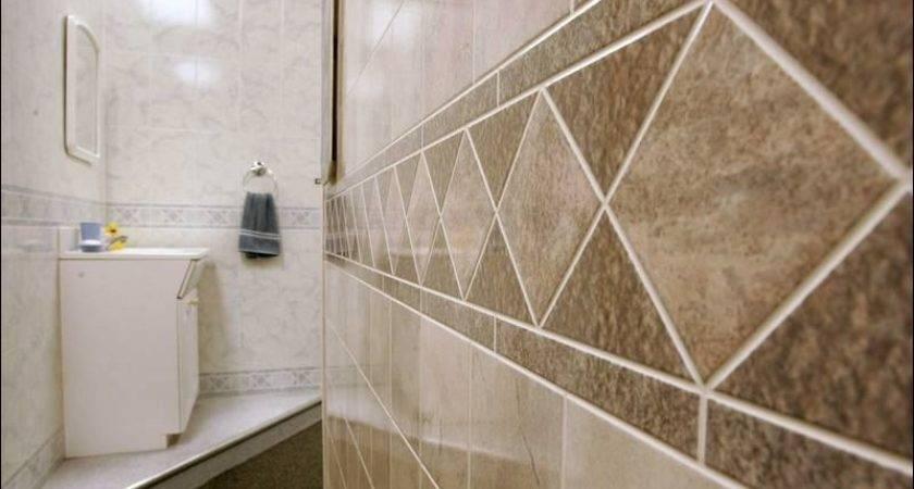 Stone Wall Bathroom Tile Board Panels