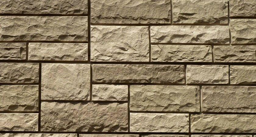 Stoneworks Faux Stone Siding Limestone Sandy Buff