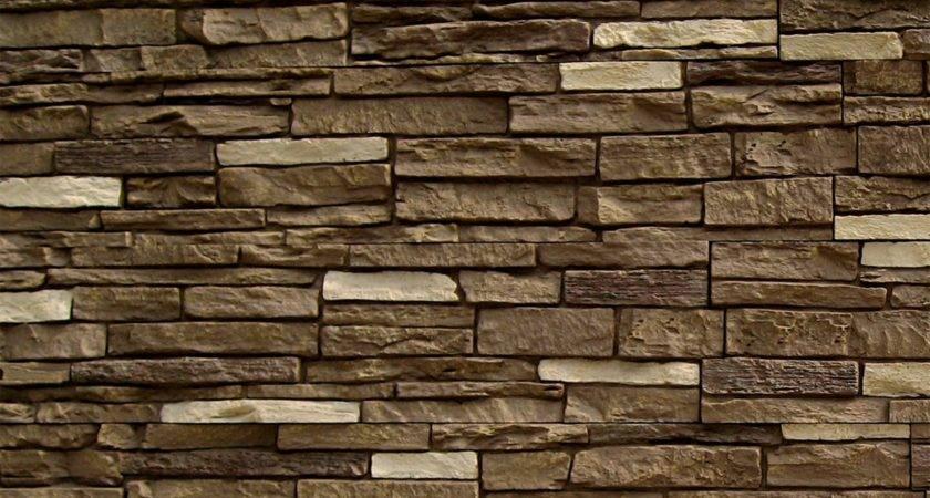 Stoneworks Faux Stone Siding Slate Sienna Panel