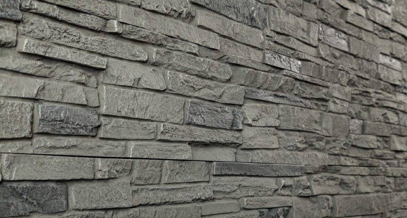 Stoneworks Faux Stone Siding Slate