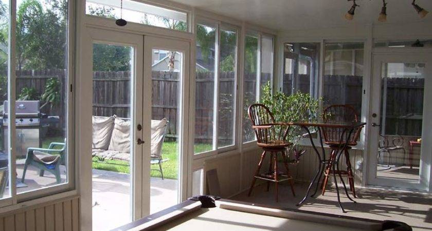 Stoneybrook East Sunroom Addition Builder Acrylic Windows