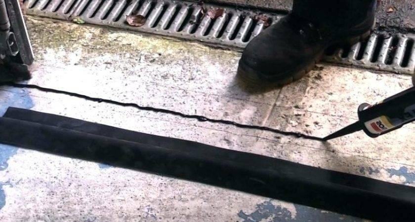 Stop Water Coming Under Door Garage