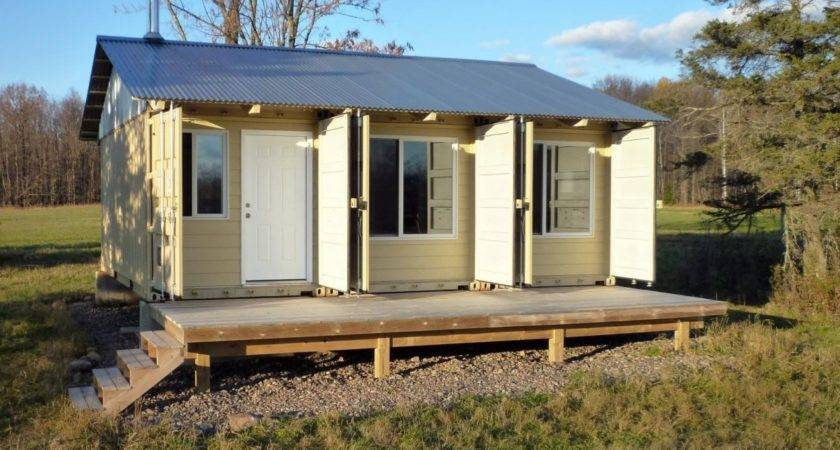 Storage Container Houses Homes