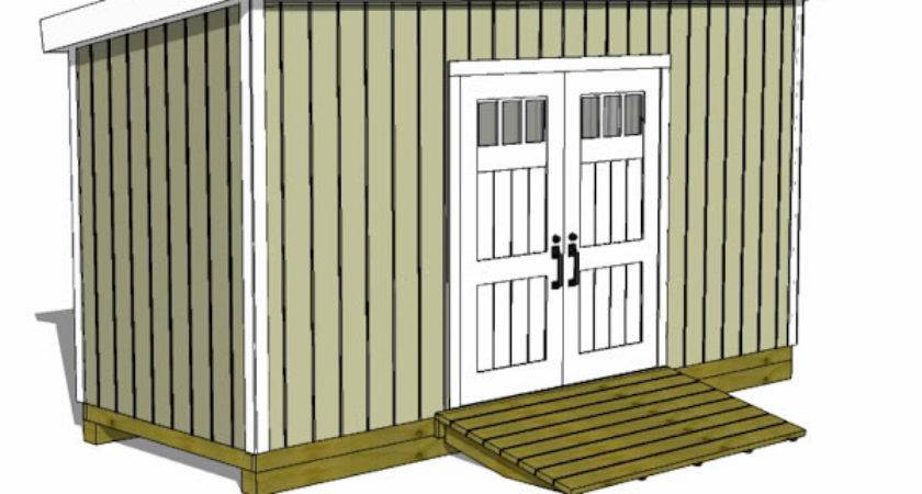 Storage Shed Attached House Plans Guide Zygor