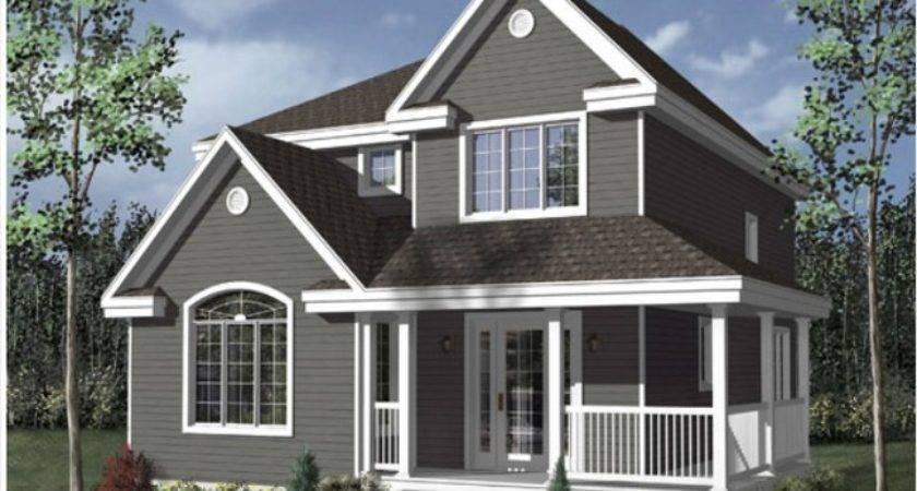 Story Modular Garage Wooden Home