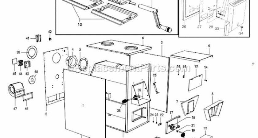 Stove Company Parts List Diagram