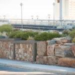 Street Lrt Retaining Wall Marmot Construction