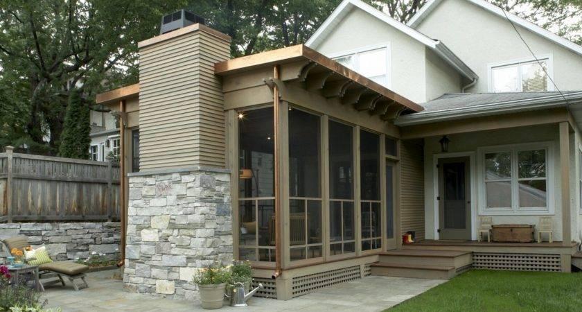 Striking Three Season Porch Trehus Architects