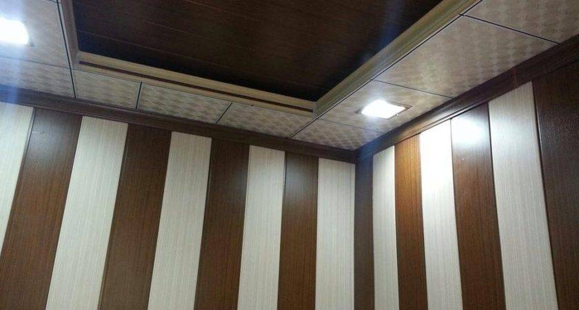 Stripe Vinyl Wall Panels Interior