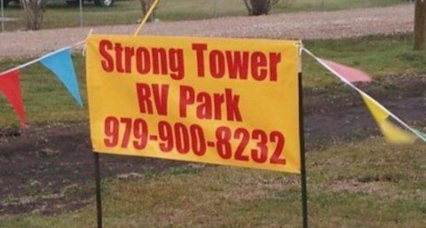 Strong Tower Park Campgrounds County