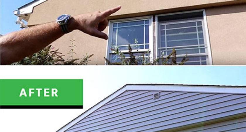 Stucco Siding Transformation Have Believe