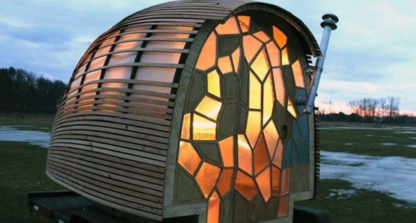 Student Designed Living Pod Can Towed