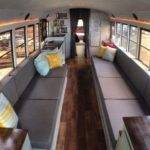 Students Convert Old School Bus Into Amazing Diy