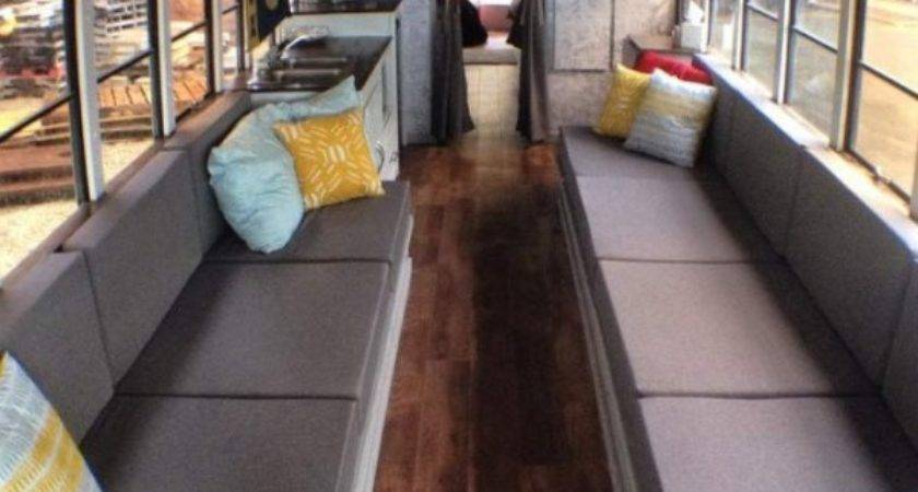 Students Convert Old School Bus Into Amazing Diy
