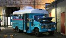 Students Convert Short Bus Into Diy Motorhome