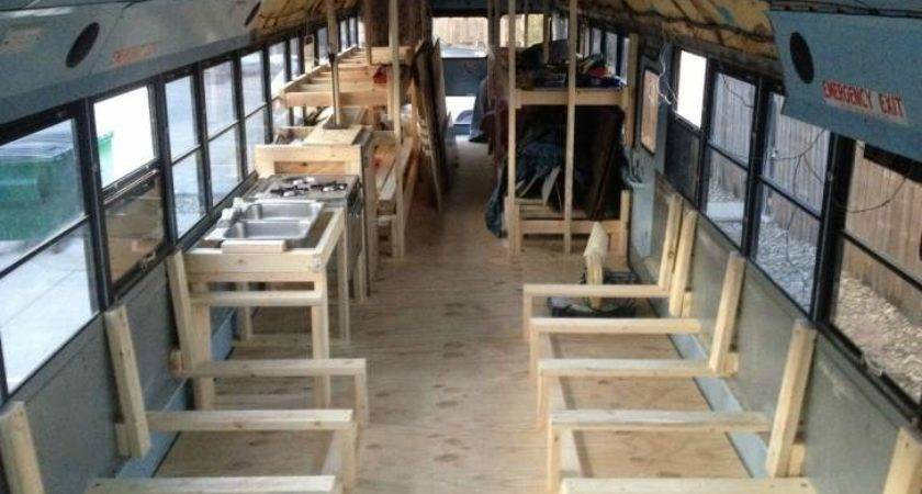 Students Renovated Old School Bus Turned