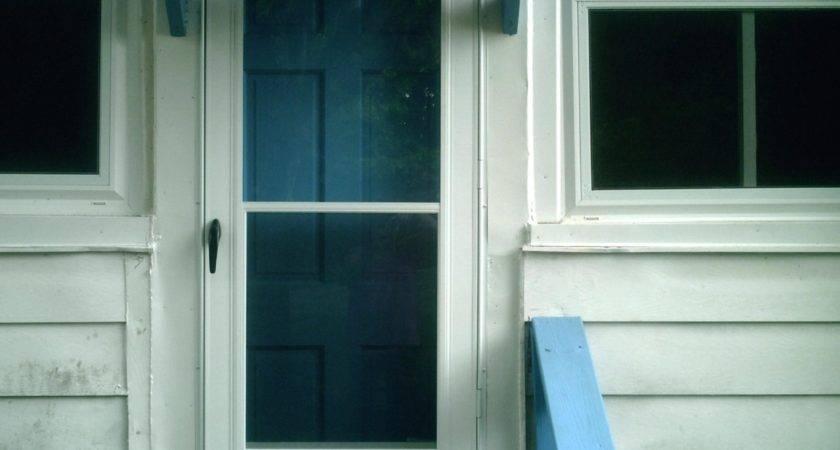Stunning Awning Front Door