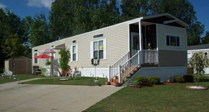 Stylish Single Wide Manufactured Home